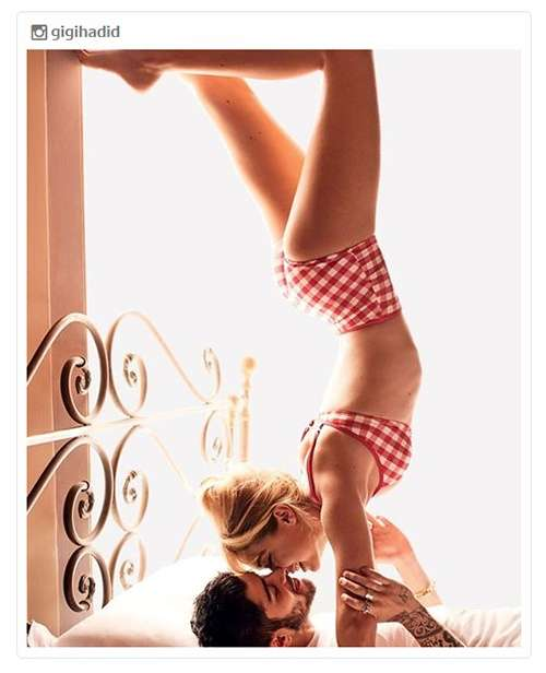 ジジ・ハディッド&元1Dゼイン「VOGUE」で熱烈キスショット披露 甘いバカンスを満喫 - モデルプレス