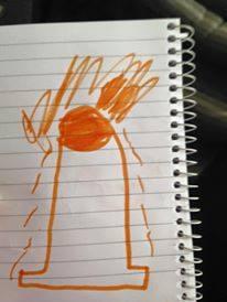 """【何に見える?】子供「飛び出すカード」を作ったよ! → """"予想に反するもの"""" が飛び出して大人は絶句"""