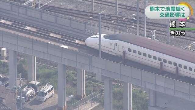 九州新幹線 新水俣ー鹿児島中央間で運転再開へ | NHKニュース