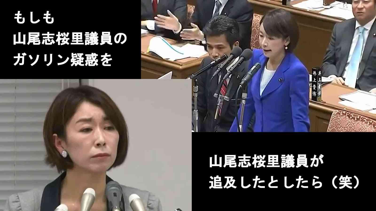もしも山尾志桜里議員のガソリン疑惑を山尾志桜里議員が追及したとしたら(笑) - YouTube