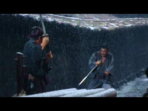 Greatest Japanese Movie Swordfight EVER! - YouTube