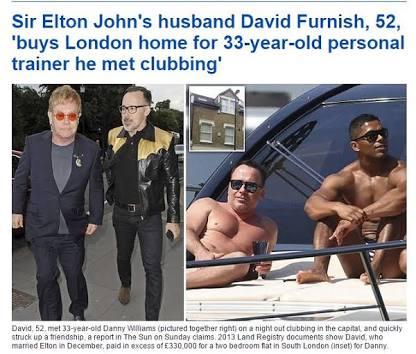 【アダルト注意】「乳首をつねって」「お尻の割れ目に指を…」、エルトン・ジョンがセクハラ訴訟で大ピンチ!