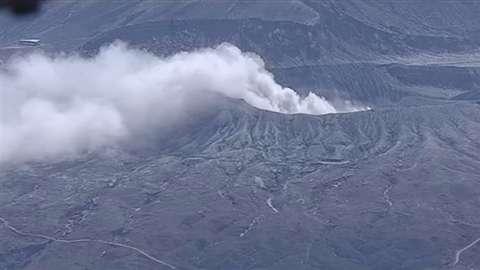 「阿蘇山が噴火」 News i - TBSの動画ニュースサイト
