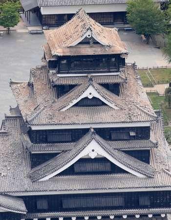 <熊本地震>熊本城「修復に10年以上」…事務所見通し (毎日新聞) - Yahoo!ニュース