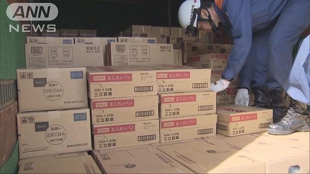 熊本地震 東京都などが被災地へ水や非常食など支援
