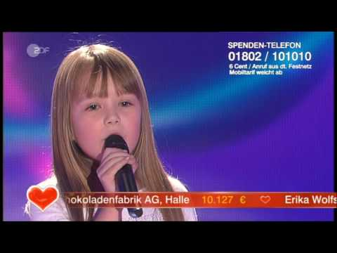 Connie Talbot / I Will Always Love You LIVE - YouTube
