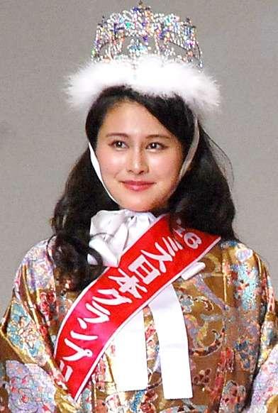 「ミス日本2016」に維新代表の娘・松野未佳さん 2804人の頂点に