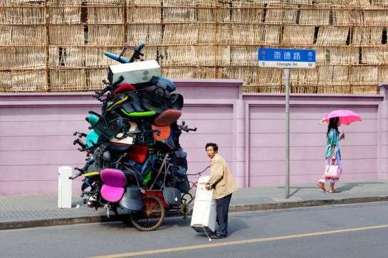 荷物が多い人