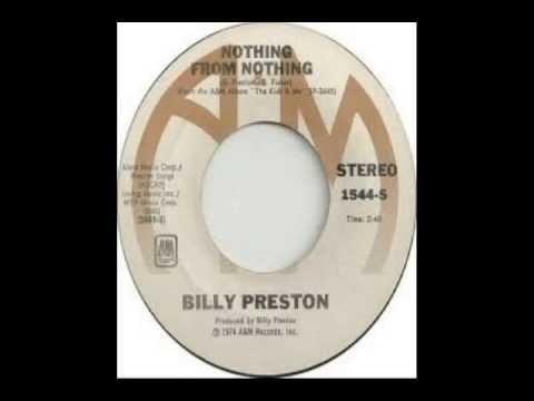 Billy Preston - Nothing From Nothing (1974) - YouTube