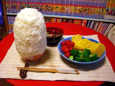 和食を貼ろう