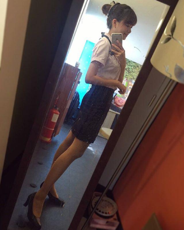 【画像】台湾マクドナルドの美人店員が話題に