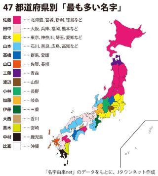 都道府県が苗字の人いますか?