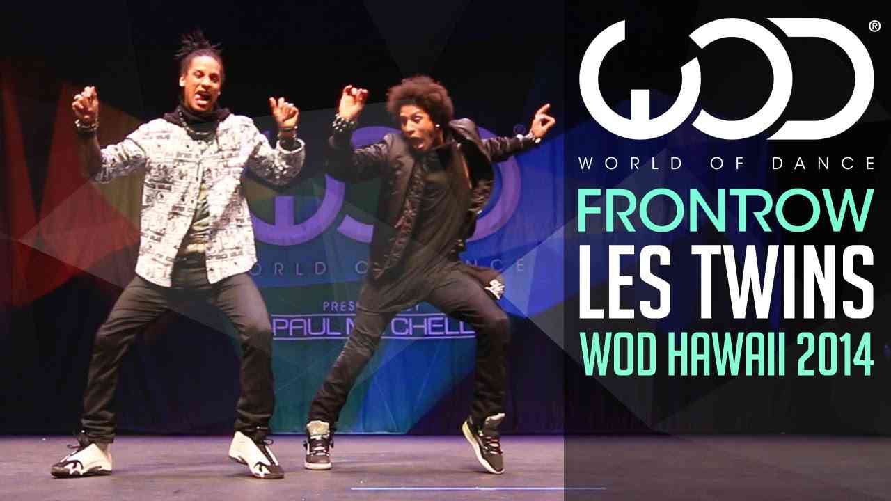 Les Twins   FRONTROW   World of Dance 2014 #WODHI - YouTube