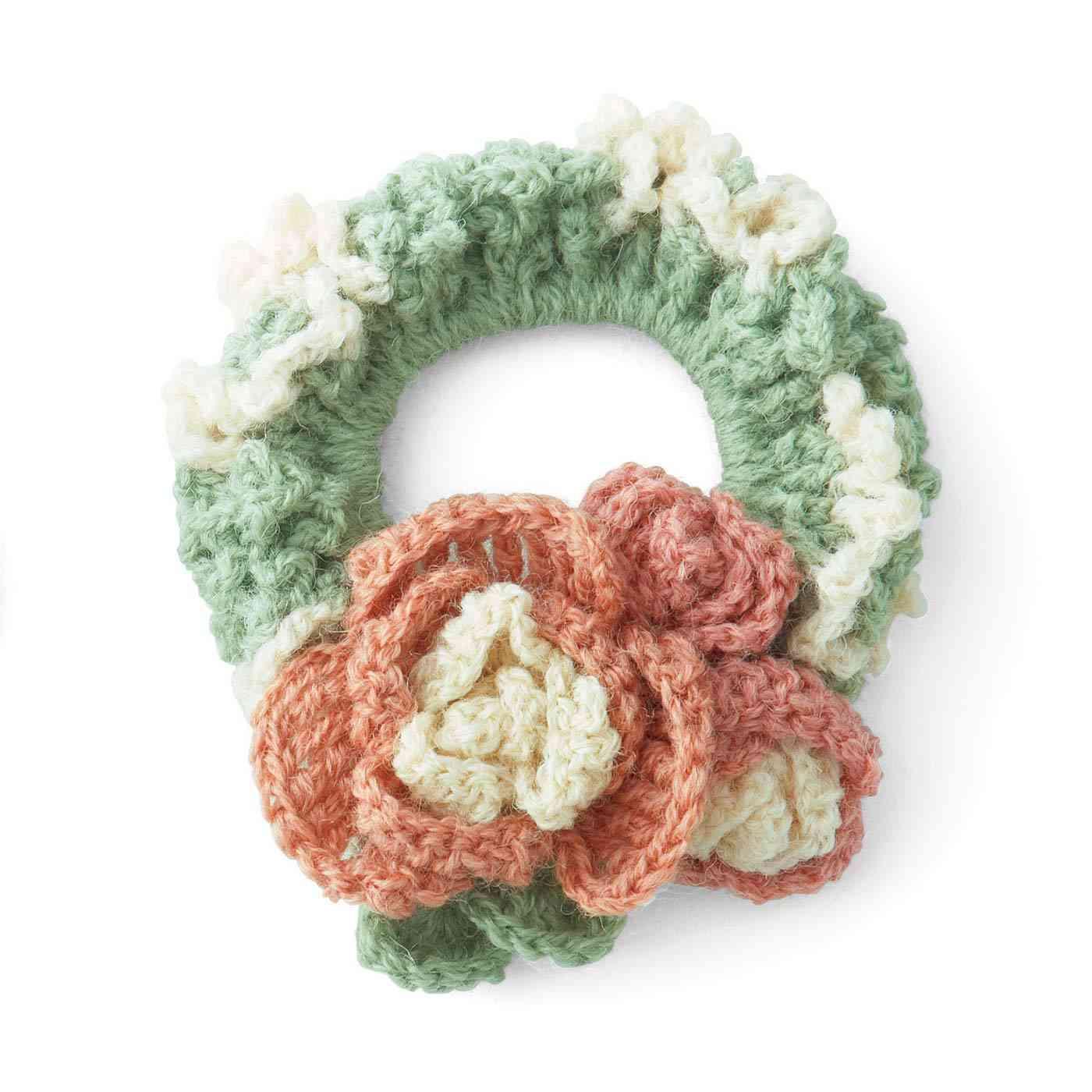 四季を感じる  かぎ針お花シュシュの会 フェリシモ