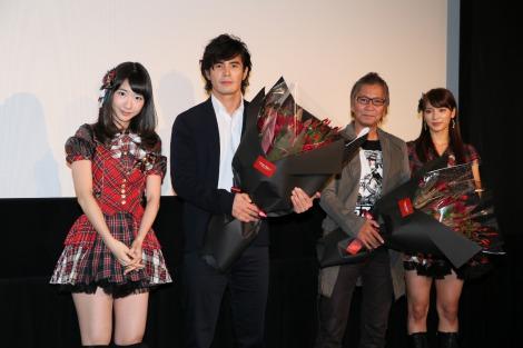 大島優子、『悪の教典』上映後すぐ退場 「私はこの映画が嫌いです」 | ORICON STYLE
