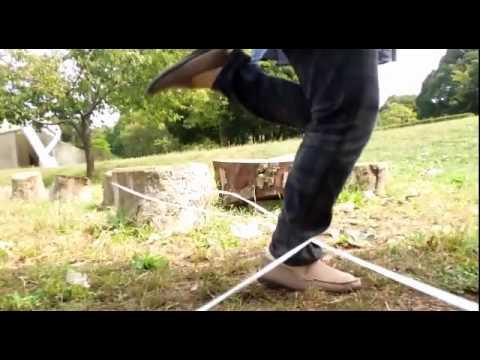 ゴム段 (画面に足が近くて失礼) - YouTube