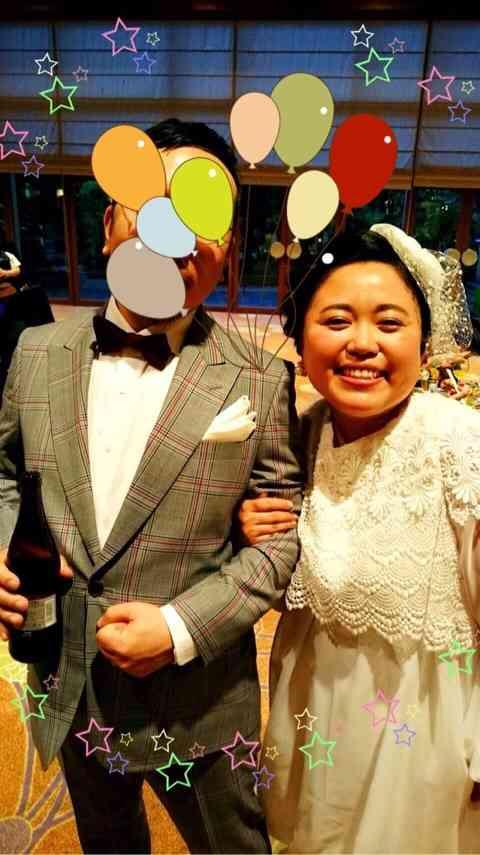 ニッチェ江上敬子、出雲大社で挙式 「ドレス姿かわいい」と反響も