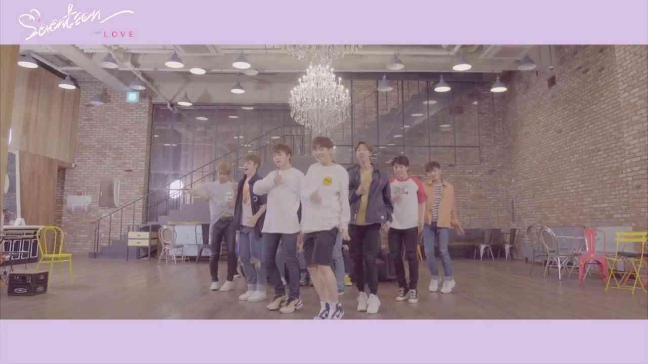 [Dance Practice] SEVENTEEN(세븐틴) - 예쁘다 (Pretty U) Dancecal 'LOVE ver.' - YouTube