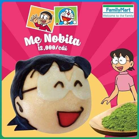 なぜそのチョイス!?ベトナムファミマがのび太のママをモチーフにした中華まん「のび太のママまん」を発売