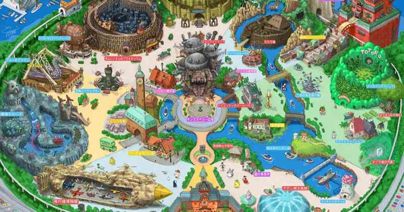 ジブリが遊園地に?!  ファンが描いた「東京ジブリーランド」にウキウキする(画像11枚) | CuRAZY [クレイジー]