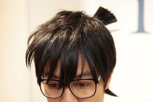 前髪がすぐベタつく