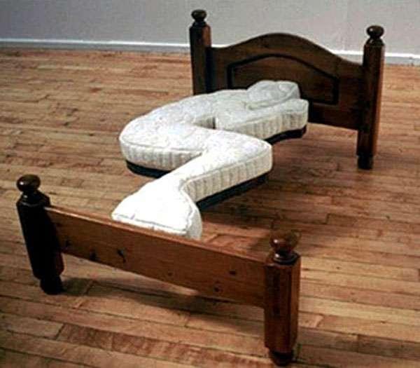 ベッドから落ちた事がある人~