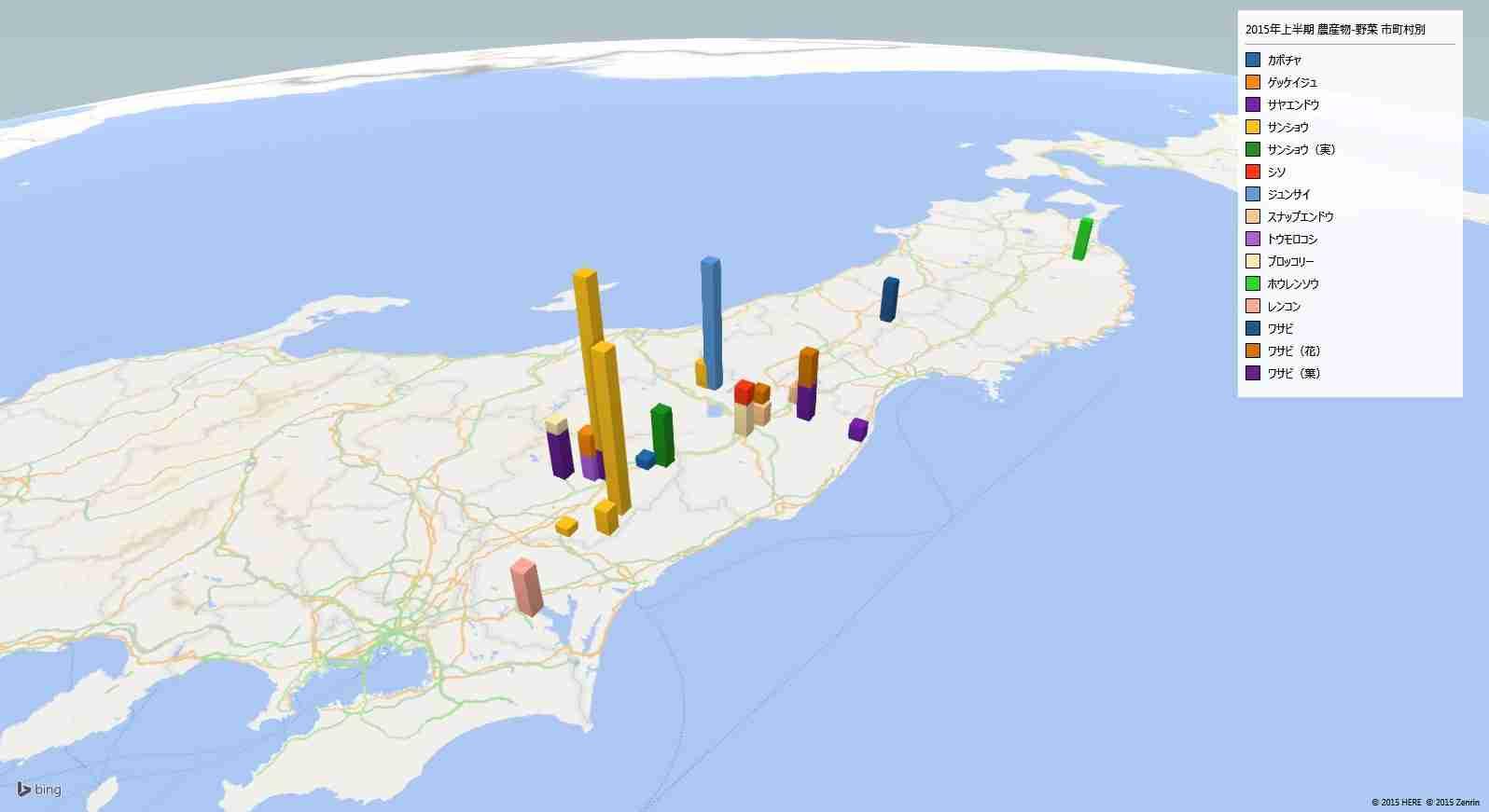 野菜の放射能検査の地図 | ホワイトフード公式ホームページ