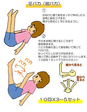 30日間足パカダイエットPART2