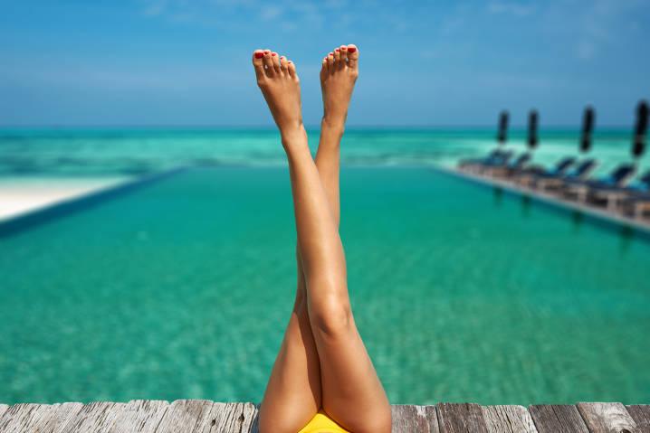 足パカ運動で太もも痩せに挑戦!美脚を作る効果的な足パカのやり方まとめ!