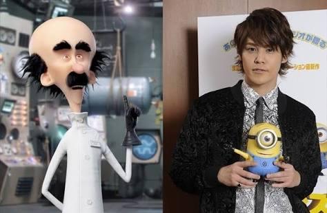 同じ声優さんだと知って驚いたキャラクター