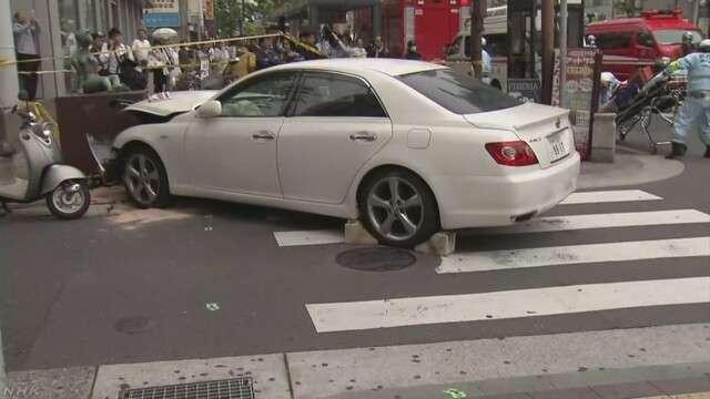 三ノ宮駅近くで車暴走、歩行者はね男女5人負傷