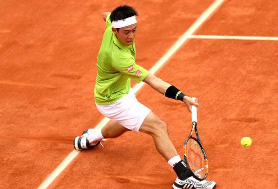 <男子テニス>錦織圭 アウェーの4回戦、観客ブーイングは「基本的に無視(笑)」