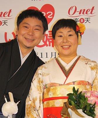 ニッチェの江上敬子 出雲大社で挙式「ようやく夢がかなう~」