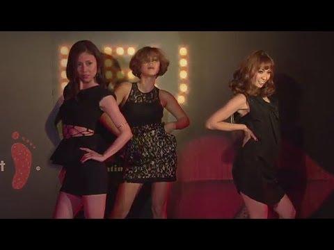 MAXがセクシーダンスを披露! 映画「ファイア by ルブタン」公開記念ダンスイベント - YouTube