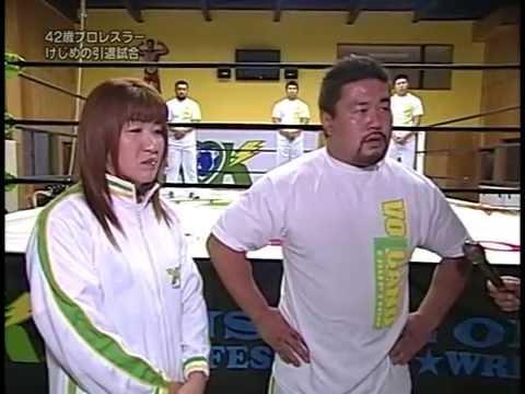 インディーのレスラーが引退試合で佐々木健介に挑戦! - YouTube
