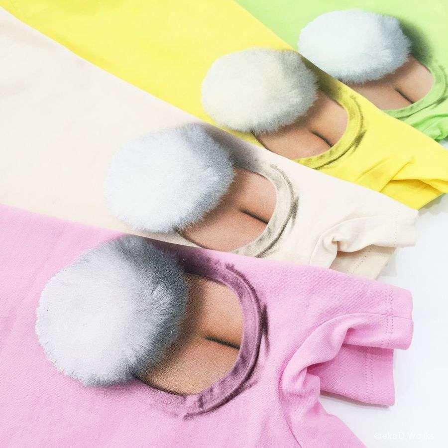 悶絶級!赤ちゃんからしっぽが生えて見えるベビー服、キツネ&ウサギ&天使の新デザイン登場