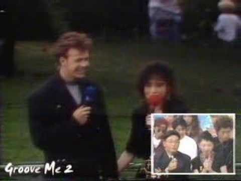 Seiko and Donnie Wahlberg - YouTube