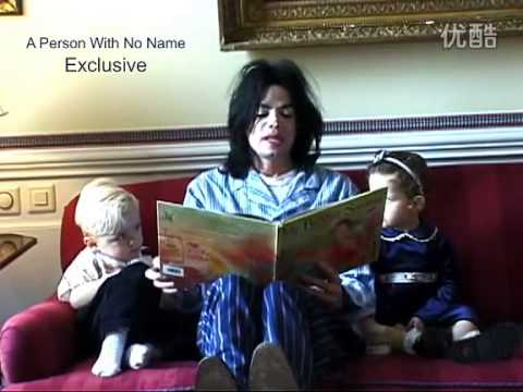 Michael Jackson reading story to Paris and Prince - YouTube