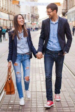 夫婦で服やバッグを兼用してる人