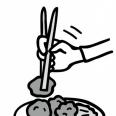 【おかずの取り分け】お箸の裏を使うのはアリ?ナシ?