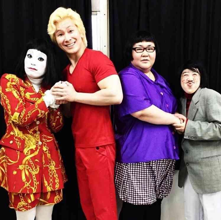 メイプル超合金&日本エレキテル連合 4人はお笑い界の「アベンジャーズ」?