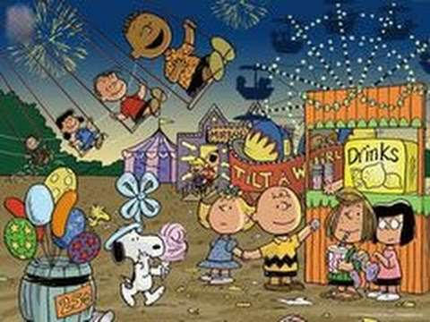 """Peanuts Gang Singing """"Saturday In The Park"""" by: Chicago - YouTube"""