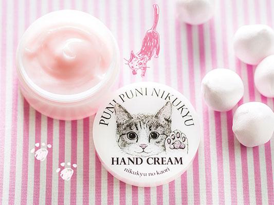 猫の肉球の香りハンドクリーム(人間用)を発売します!│フェリシモ猫部