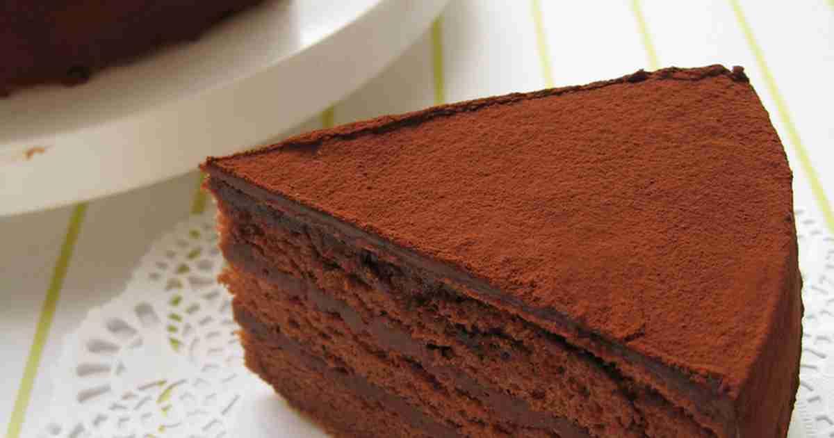 ◆りぴ・りぴ㊙チョコレートケーキ◆ by まれ子 [クックパッド] 簡単おいしいみんなのレシピが238万品