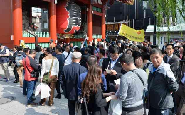 訪日中国人のビザ緩和 外国客4000万人へ政府対策  :日本経済新聞