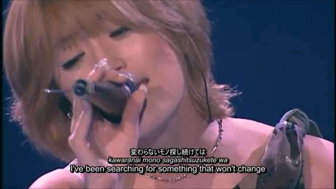 Ayumi Hamasaki - NEVER EVER (jpn/rom/eng subbed) - YouTube