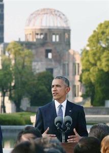"""【マスコミ/比較】オバマ大統領広島訪問:『産経』と『朝日』にみる""""米メディアの反応""""の報道の仕方 / 正義の見方"""