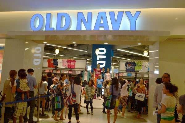米ギャップ、日本で「オールド・ネイビー」全店閉鎖へ