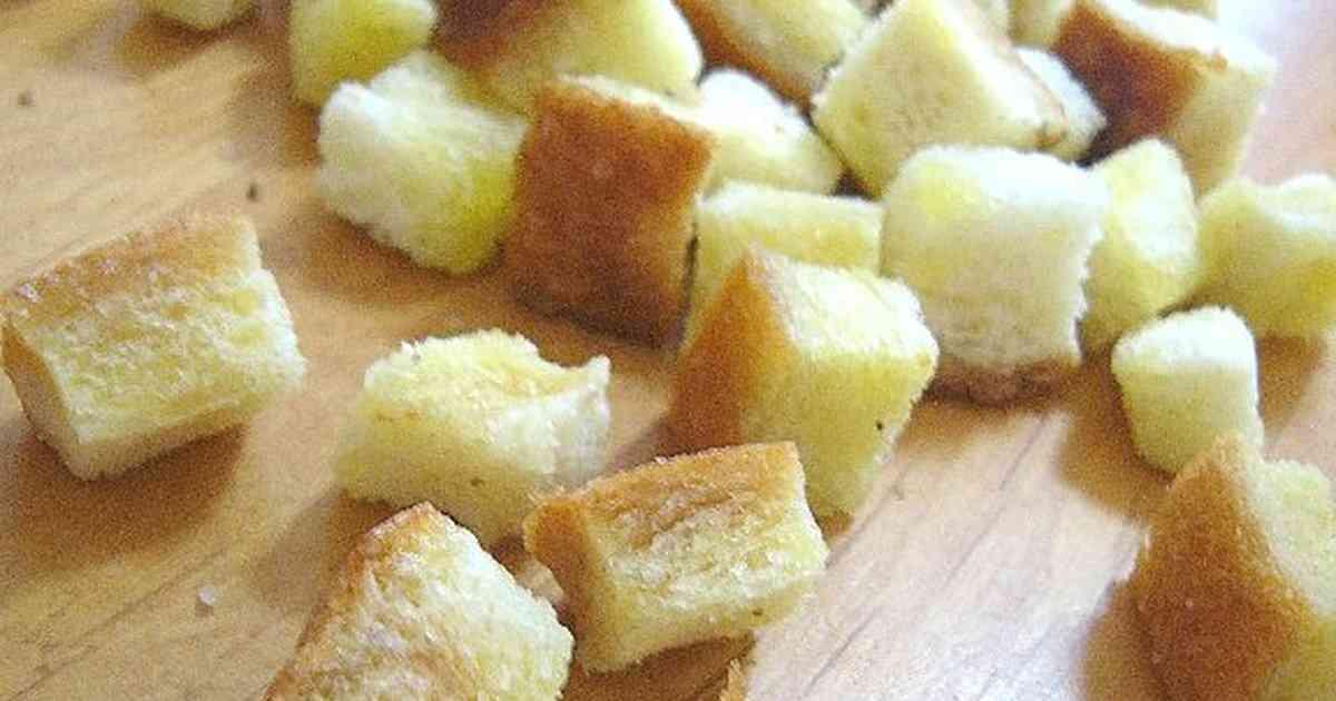 手作りクルトン。 by つくしぐみ [クックパッド] 簡単おいしいみんなのレシピが237万品
