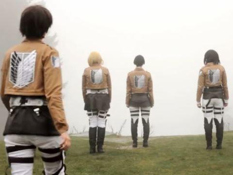 ドイツ人作「進撃」実写OPが超リアル - 動画 - Yahoo!映像トピックス